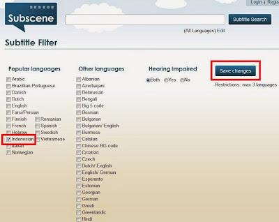 Cara Menampilkan Hanya Subtitle Indonesia Di Subscene