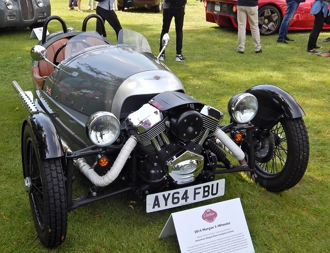 Remember the Morgan Three Wheeler?
