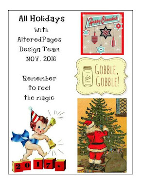Altered Pages Holidays 2016