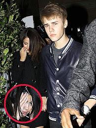 Selena Gómez recibió golpe de fanática de Justin Bieber