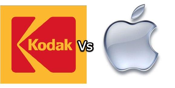 Apple sue Kodak