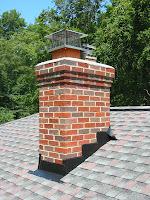 chimenea en el tejado en inglés