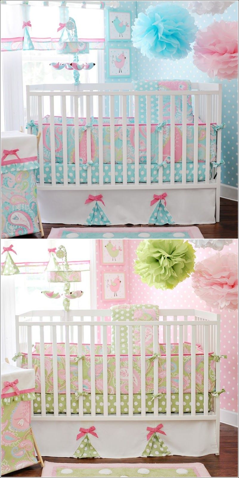 Chambre Turquoise Pastel