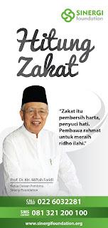 Brosur Bayar Zakat Via Sinergi Foundation