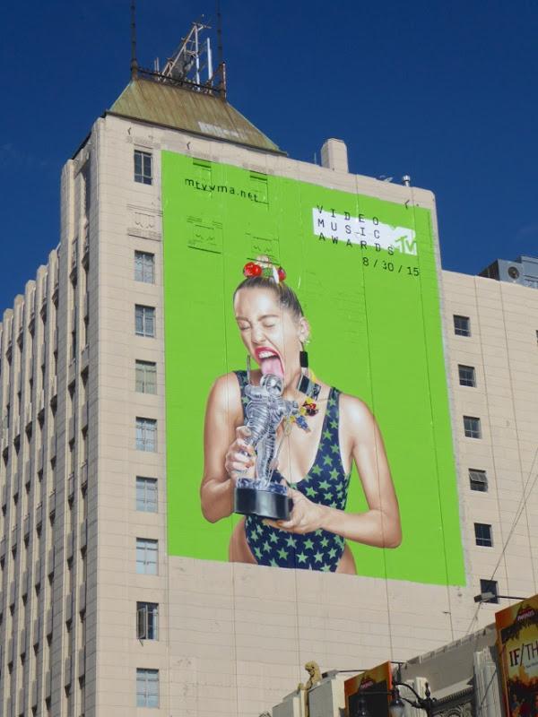 MTV Video Music Awards Miley Cyrus billboard