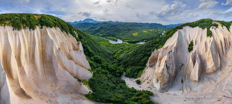 Kutkhiny Baty, A Beautiful Valley of Kamchatka Krai, Russia