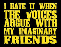 imaginary friends versus the voices