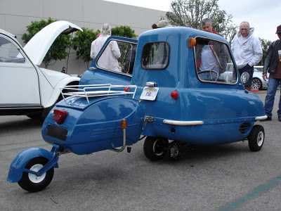 carro mais pequeno do mundo ,P50 Peel,microcarro