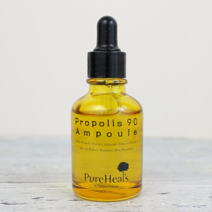 Pure Heals Propolis 90 Ampoule review 프로폴리스90 앰플 30ml ingredients