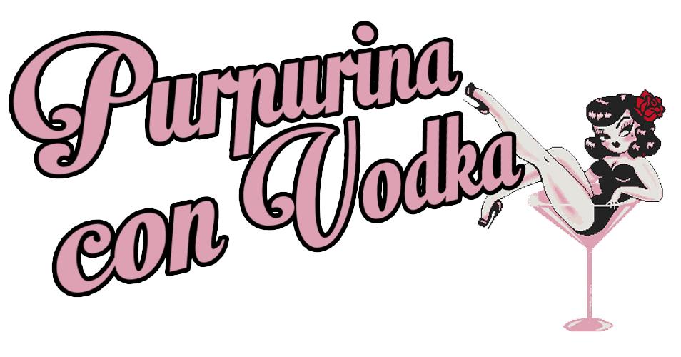 Purpurina con Vodka