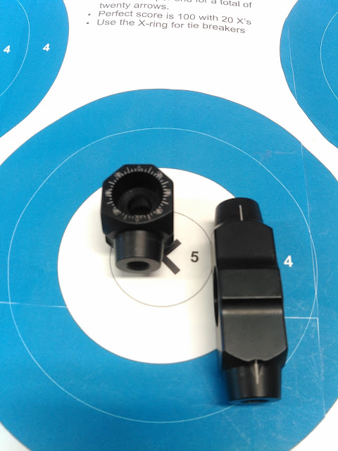Les Stabilisations Dead Center Archery - La gamme Diamond Series IMG_20160310_162411