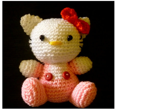 crochet amigurumi Hello Kitty cute baby pattern
