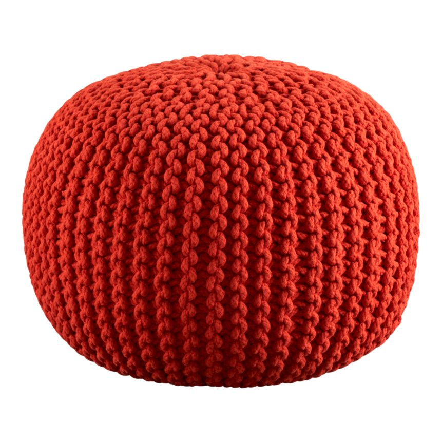 Knitted Ribbing Patterns : Gotta have these...5 of the best poufs... ~ MONACO Interiors