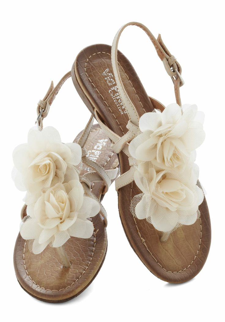Sweet Flower Summer Sandals