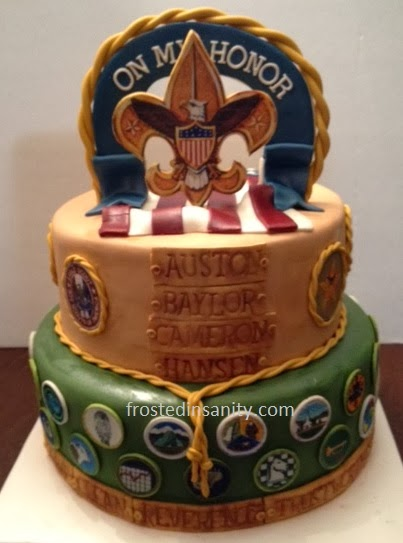 Eagle Scout Cake Posted By Marilee Woodfield At 806 PM