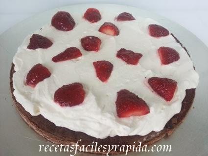 tarta selva negra con freson