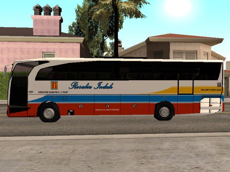 GTA San Andreas Mods Bus Rosalia Indah (HINO)