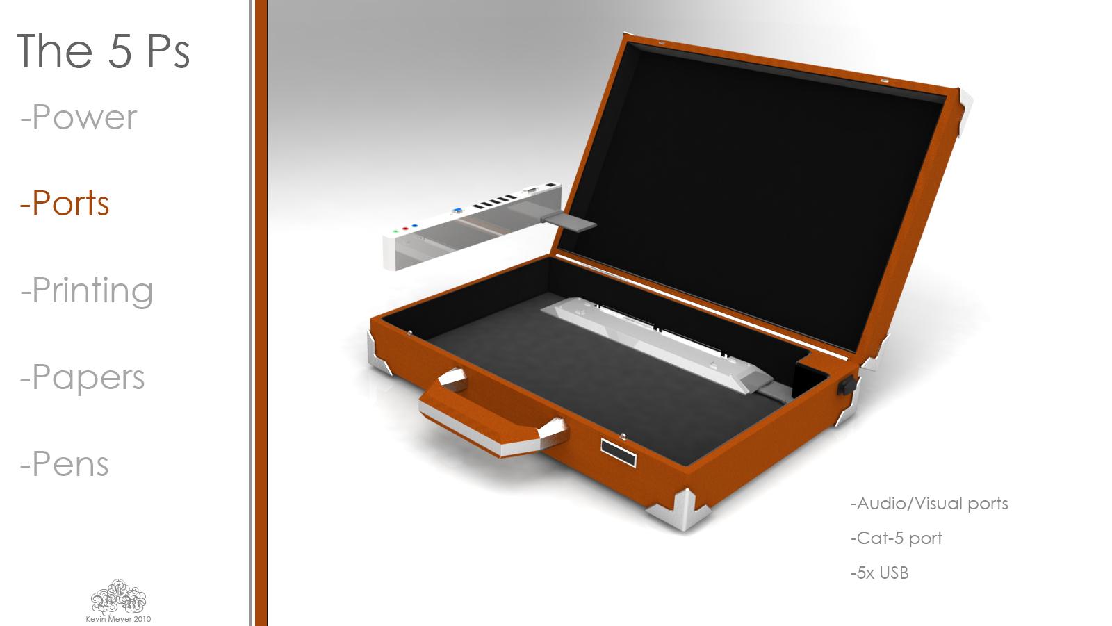 Briefcase Design Project | Kevin Meyer