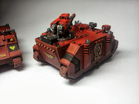 RAZORBACK - BLOOD ANGELS - WARHAMMER 40000 - Clean 3