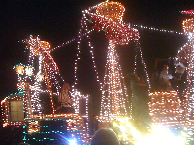 Disney World's Electrical Parade at the Magic Kingdom