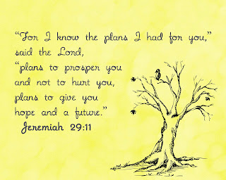 Jeremiah 29:11 Free Printable by Cheng and 3 Kids