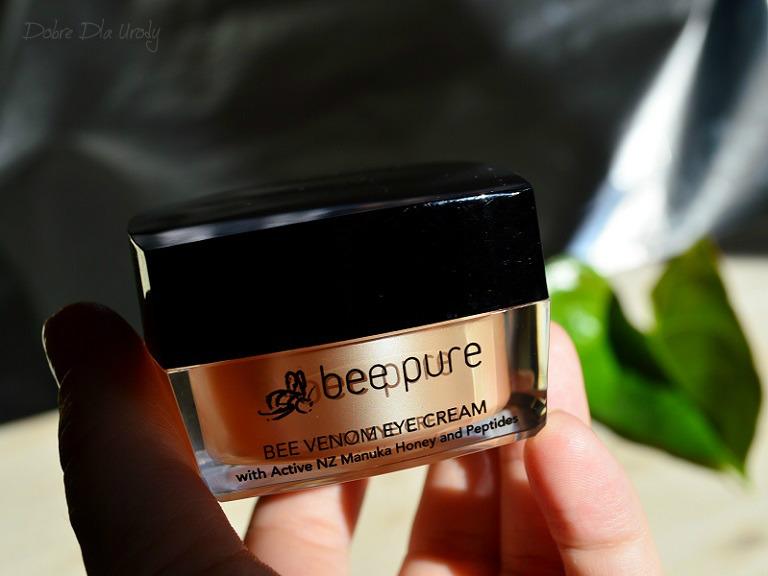 Bee Venom Eye Cream Krem pod oczy Bee Pure na jadzie pszczelim z miodem manuka UMF20+ i peptydami