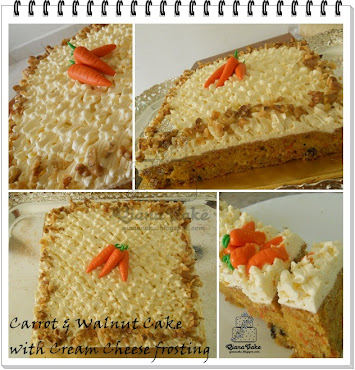 Carrot and Walnut Cake RM90