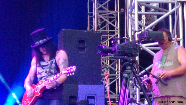 Slash Burg Clam Double Talkin Jive live 2015