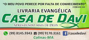 LIVRARIA EVAGÉLICA CASA DE DAVI