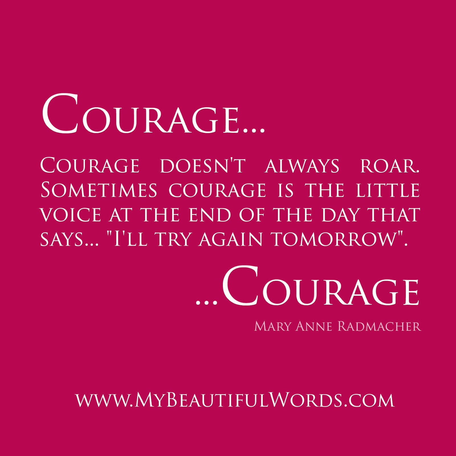 what is courage What is the difference between courage and bravery - bravery is more on the spur of the moment than courage that is more premeditated and planned.