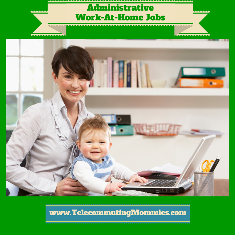 administrative work at home jobs