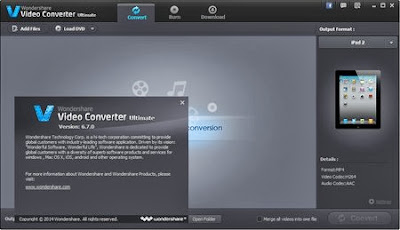 Download Wondershare Video Converter Ultimate 6.7.0.10 Including Crack