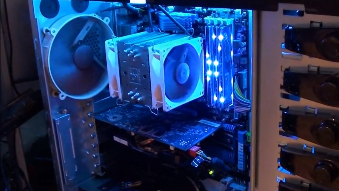 Computer Cooling System : N rd c rn r efficient air cooling for your pc