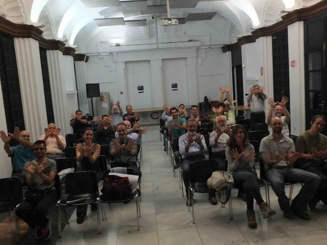 Un gesto de SEO-Sevilla y amigos por el Día Europeo de la Red Natura 2000.