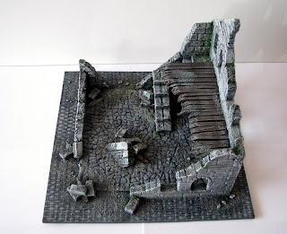 makieta ruin osgiliath