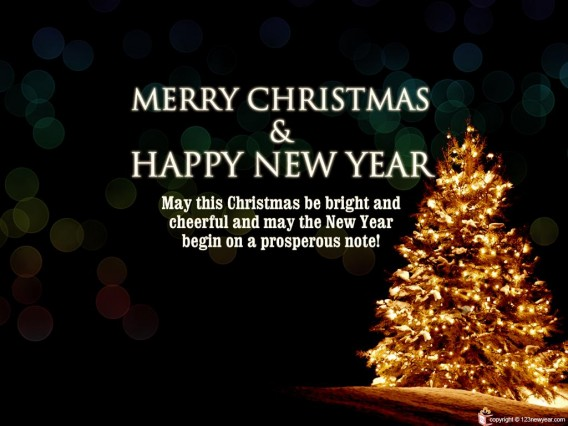 My Journey: Merry Christmas and a Happy New Year!