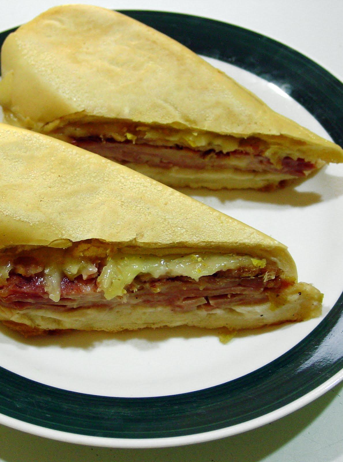 SANDWICH CUBANO- Cuban Sandwich