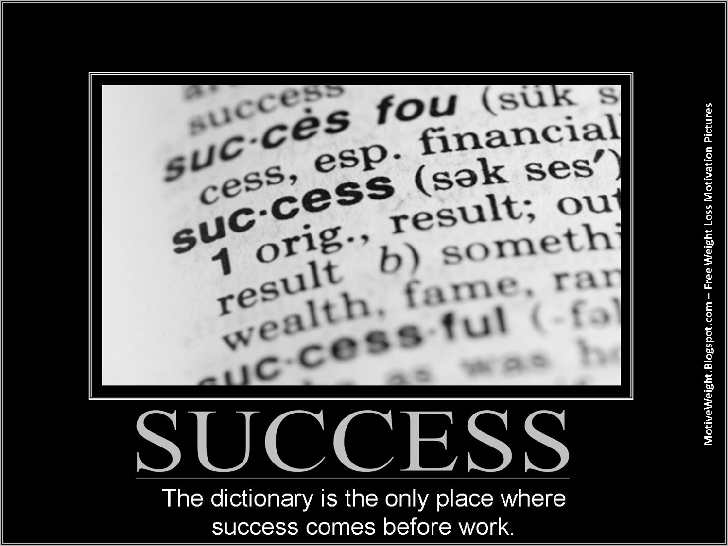 Success comes from hard work essay