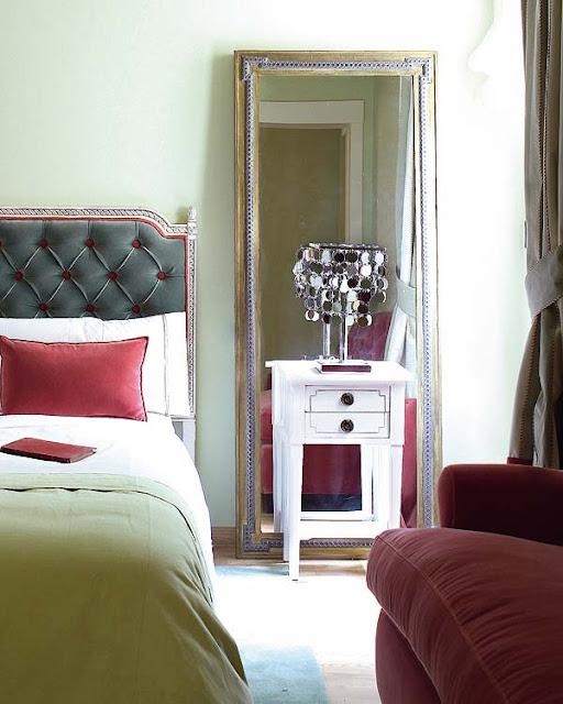 SOLUCION PARA DORMITORIOS CON TECHOS BAJOS via www.dormitorios.blogspot.com