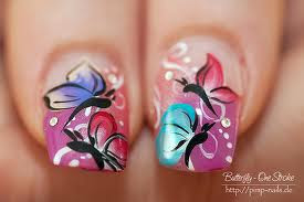 big flower nail art