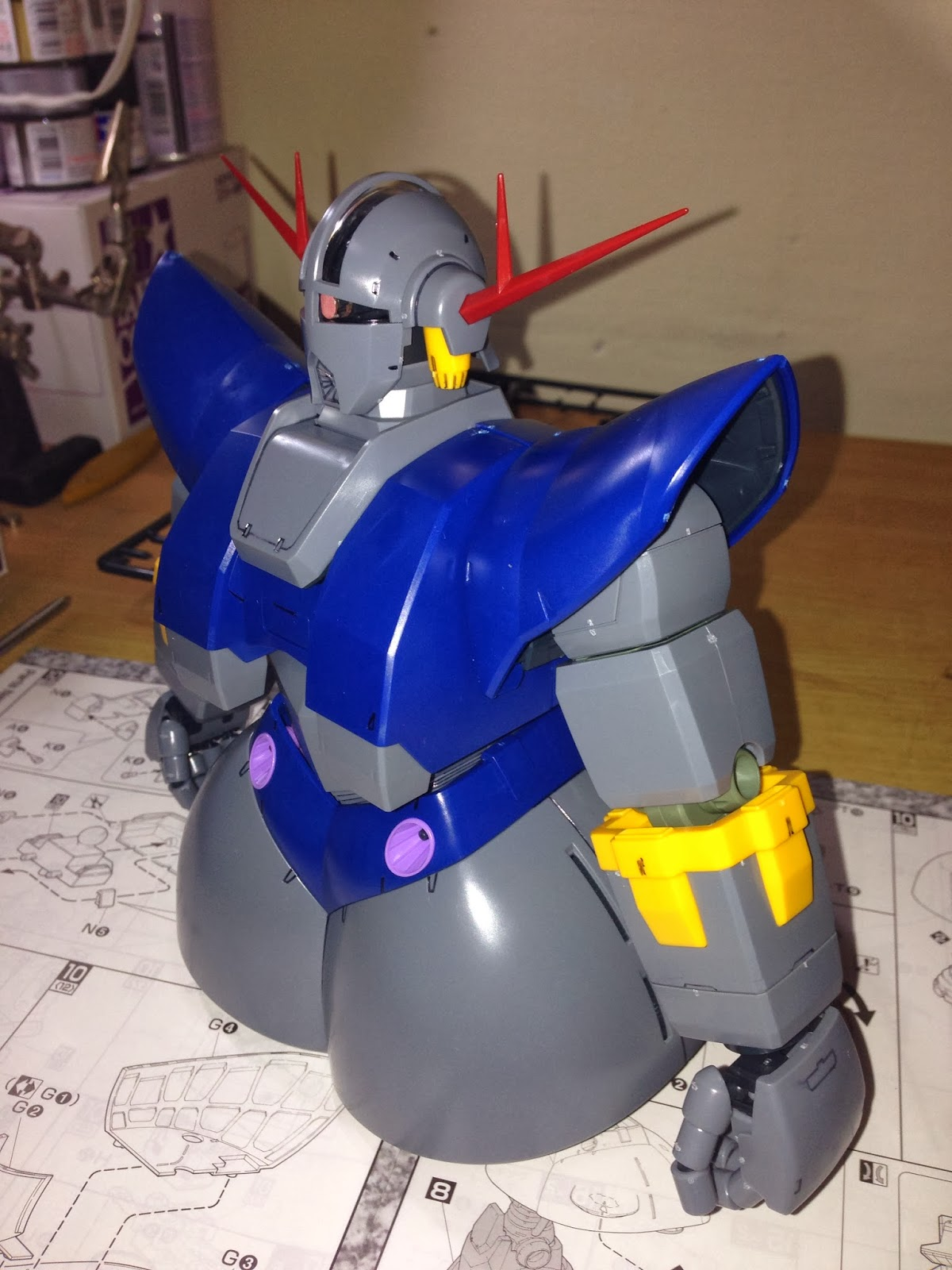 my gundam experience mg msn 02 perfect zeong principality of zeon ms for new type part 03. Black Bedroom Furniture Sets. Home Design Ideas