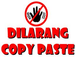 Stop Budaya Copy Paste