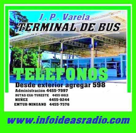 Terminal de BUS  J.P.Varela