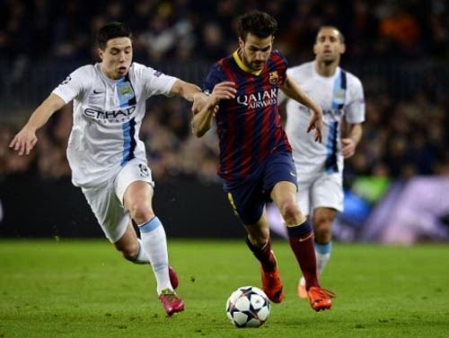 Champions League Barcelona vs Manchester City