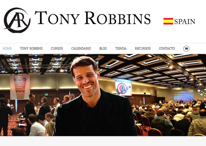 WEB en Español TONY ROBBINS