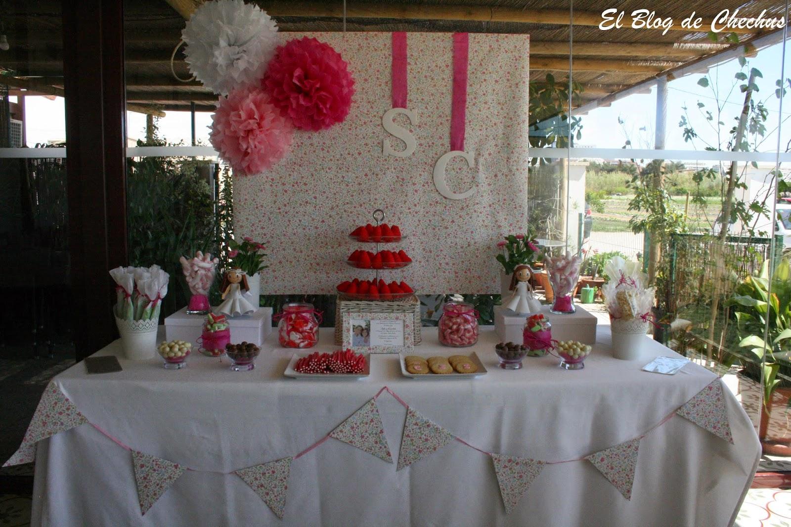 Chechus cupcakes valencia for Fotos de mesas de chuches para bodas