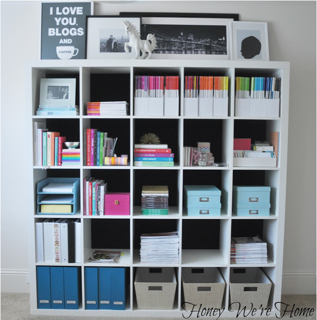 My home office organization honey we 39 re home for Office organization tips and ideas