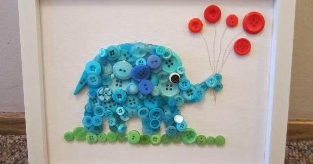 Manos a la obra como hacer un cuadro con botones - Como hacer cuadros con botones ...