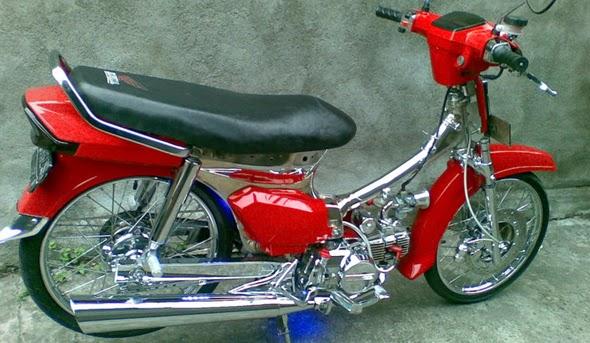 Foto dan Gambar Modifikasi Keren Honda Astrea Grand Keren Terbaru