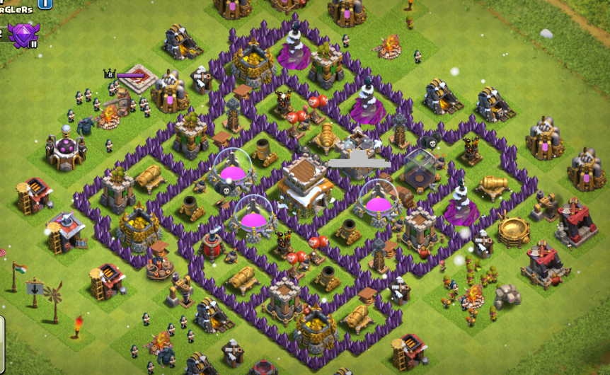 Town Hall 9 Base Designs